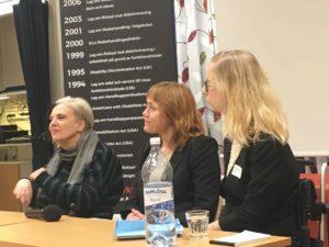 Susanne Berg, Annika Jyrwall Åkerberg och Andrea Bondesson