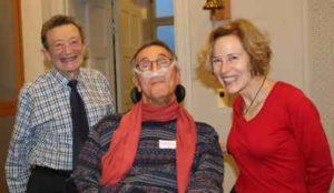 Sid Wolinsky, Adolf Ratzka och Pat Kirkpatrick