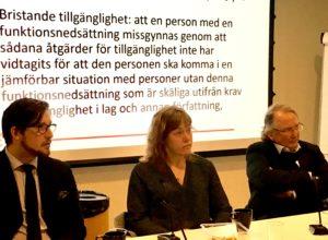 Ola Linder, Annika Jyrwall Åkerberg och Stellan Gärde