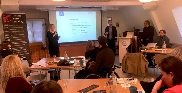 SEMINARIUM: Fackförbundens roll i kampen mot funktionsdiskriminering