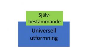 självbestämmande universell utformning