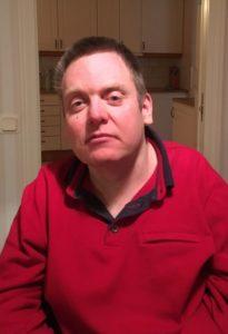 Thomas Juneborg, STIL Jönköpinga, i röd tröja.