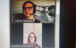 Carina Sammeli och Josefine Gustavsson, LSS-bostads-utredningen.